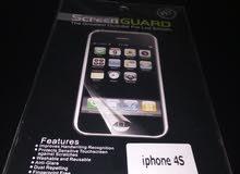 شاشة حماية ايفون 4 اس