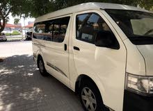 Toyota Hiace available on Rent with Driver for Passenger Transportation