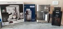 ماكينة قهوة و مطحنة ديلونقي