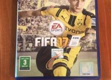 شريط FIFA17 بلاستيشن ( سوني ) 4