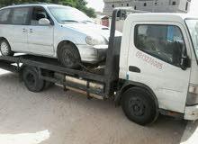 متشي ساحبة للايجار لنقل السيارات المعطلة داخل وخارج ليبيا تونس