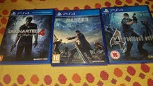 resident evil 4   final fantasy xv    uncharted 4