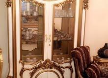 غرفة طعام فخمة خشب زان روماني اصلي للبيع بسعر مغري