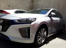 Ioniq 2018 for rent in Amman