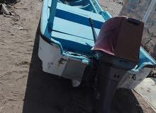 قارب نضيف وجاهز للبيع بسعر زين للحاجه بدون مكينه