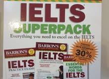 مجموعة كتب ايلتس Barrons IELTS Superpack