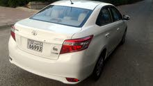 Toyota Yaris 2014 For sale - White color