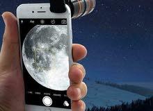 عدسات زووم تلسكوب لجميع انواع الموبايلات