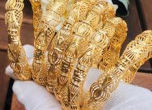 اطقم نسائيه بناجر مطليات بماء الذهب