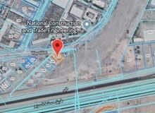 للبيع ارض سكني تجاري في بوشر غلا اول خط على الشارع السريع