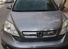 هوندا CRV سي أر في لون فضي موديل 2008 للبيع