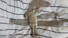 بيع خنجر بقرن زرافي افريقي جميل
