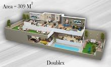 دوبلكس للبيع بالتجمع الخامس اول قسط بعد سنتين من التعاقد