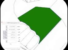 للبيع قطعة ارض من اراضي شرق عمان في وادي العش حوض مزرعة العايد مساحة 103 دونم