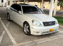 White Lexus LS 2001 for sale