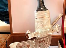 خنجر قرن زراف هندي للبيع