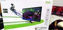 شاشة قيمنق ACER Full HD 144hz للبيع