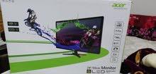 شاشة قيمنق ACER Full HD 144hz للبيع
