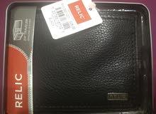 محفظة جلد ريليك فوسيل Relic Fossil Wallet