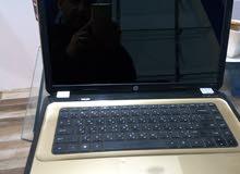 لاب اتش بي  core. i5 بحالة ممتازة جدا دهبي اللون