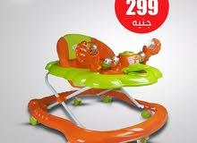 مشاية اطفال جديده لون برتقالي