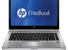 HP elitebook laptop, 13 inch