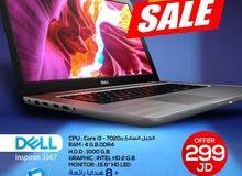ديل i3 الجيل السابع الجديد بسعر قوي