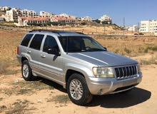 For sale 2002 Silver Grand Cherokee
