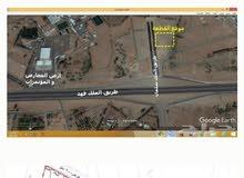 قطعة تجارية للبيع في تقاطع طريق الملك فهد