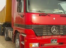 شاحنة اكترس موديل 99 +مقطورة  للبيع