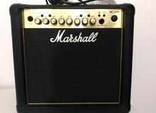 marshall mg15fx with cable