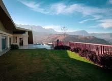 شاليه 109م للبيع تقسيط / على جبل الجلالة Sea view & Lagoon