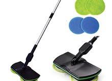المساحه الإلكترونيه الحديثه لتنظيف وتلميع جميع انواع الأرضيات داخل بيتك