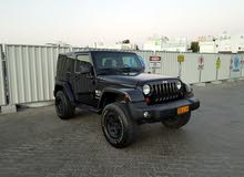 Black Jeep Wrangler 2012 for sale