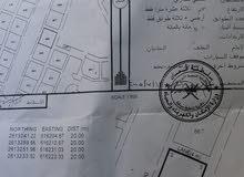 تم التخفيض للبيع ارض تجارية سكنية في موقع جيد بالمعبيلة 2/5 بـ(82)الف