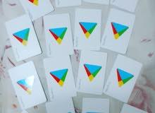 بيع ىطاقات جوجل بلاي للشحن الألعاب فئة 10 دولار