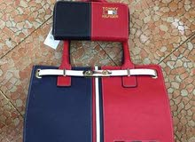Tommy Hilfiger bags - blue and red hand bag