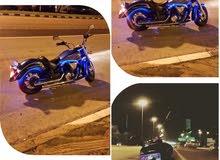 دراجة ياماها V STAR1300 مستعمله