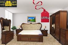 غرفة نوم زان وقشر بلوط