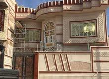 عمل واجهات البيت البخ ورسم وتقطيع حجر عمل أو مواد وعمل بنا