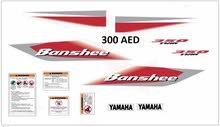 Yamaha Banshee & Raptor700 Stickers