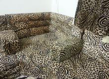 Arabian Sofa Set 8 Meters with Curtain.
