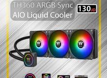 Thermaltake TH360 ARGB Sync AIO Liquid Cooler / تبردي مائي / cooling