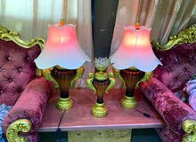 lamps with a decoration stand