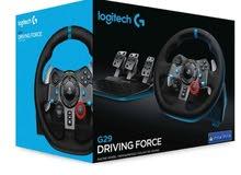 PS4 pro للبدل على  Logitech G29