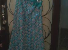 فستان حفله لبسه واحده فقط جدد للبيع