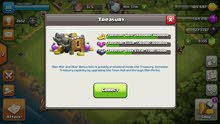 clash of clans with 9135gems!!