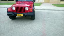 For sale 2001 Red Wrangler