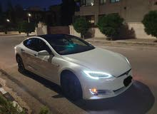 Used Tesla S for sale in Amman