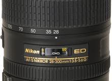 عدسة نيكون 28-300 f/3.5-5.6 ED IF AF-S VR